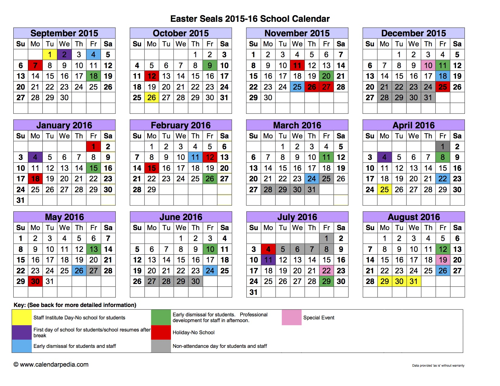 Lyons Township High School District 204 / Calendar