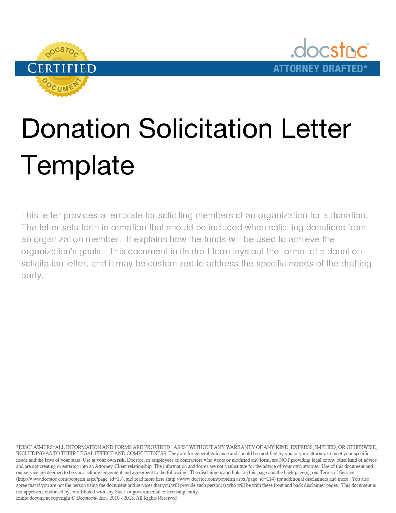 Best Photos of Free Sample Letters Soliciting Donations Sample