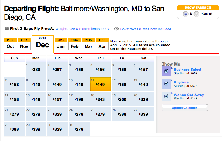 How to Get Up To Five Free SWA Round trips with 50,000 Southwest Point