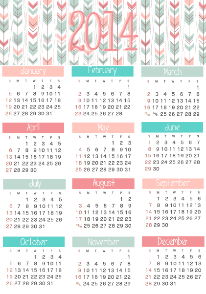 1000+ images about Free 2014 Calendars on Pinterest | Free